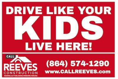 Call Reeves- Drive Like Your Kids Live Here