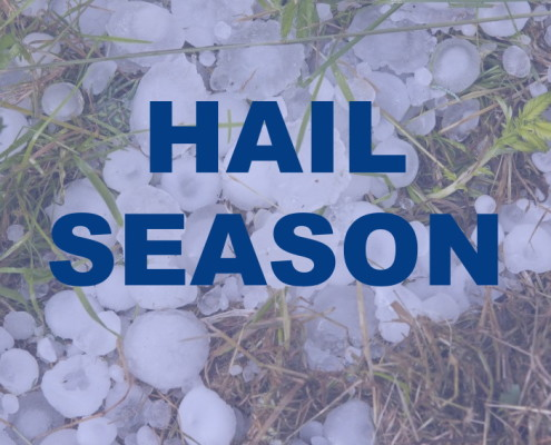 Hail Season Greenville Spartanburg